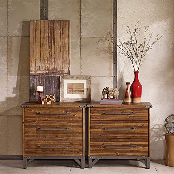 INK IVY Lancaster 3 Drawer Dresser
