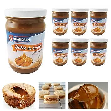 6 Jars Brandsen Dulce De Leche Milk Caramel Spread Argentina Kosher Arequipe Lot
