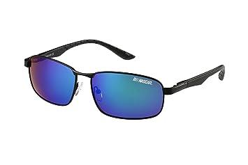 14335d1d0d6 Amazon.com  NASCAR Clutch 004P Polarized Rectangle Sunglasses