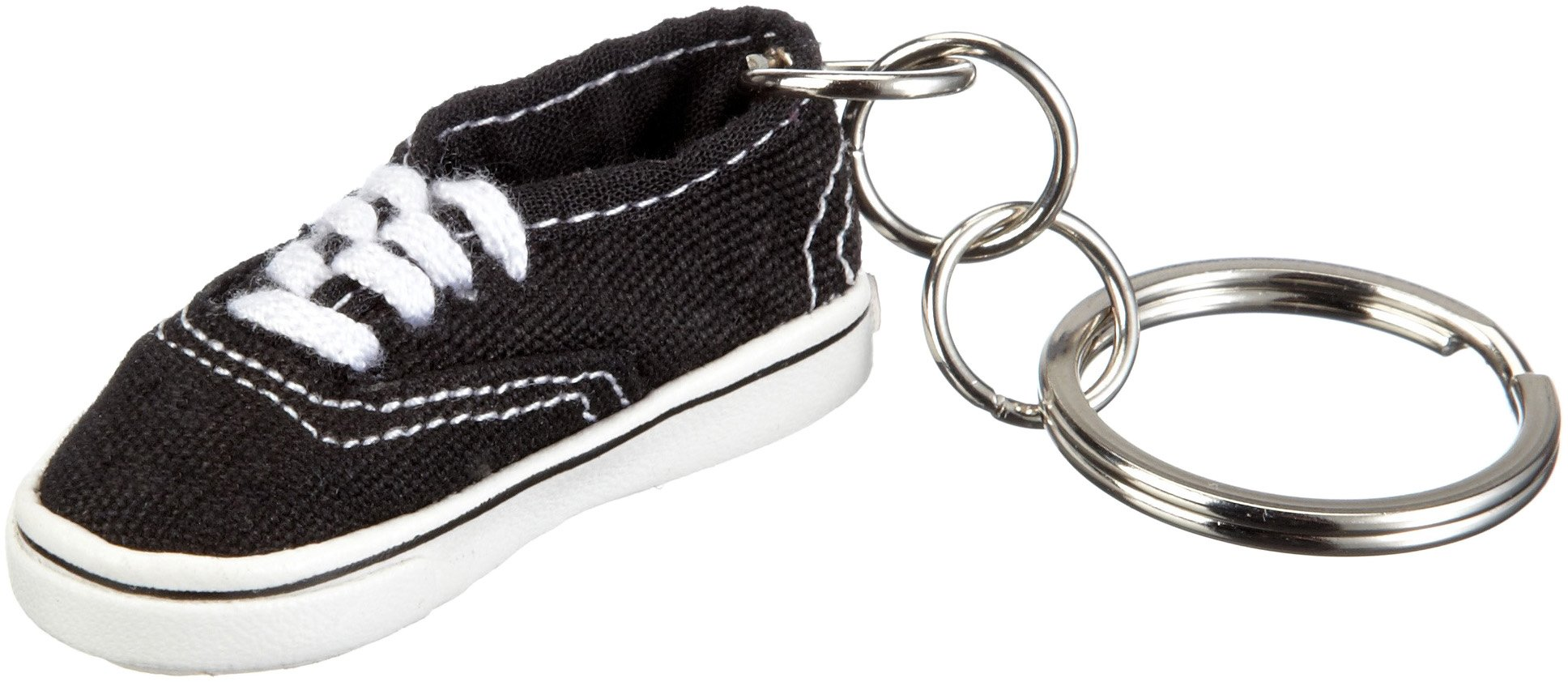 Vans Mens Authentic Keyring One Size Black by VANS