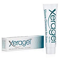 Xeragel 100% Silicone Scar Treatment Ointment — Clinically Proven to Reduce the Appearance of Old & New Scars — Sealed Tube, 10g