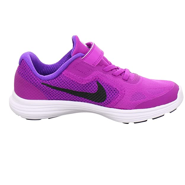 separation shoes 528ef 05e5b Nike 'Revolution 3 (PSV) Scarpe da Corsa, Viola (P), 32 EU: Amazon.it:  Scarpe e borse