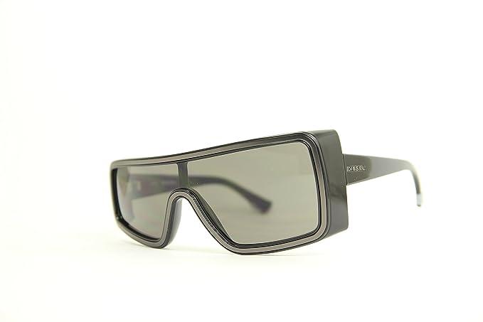 Diesel Unisex adulto Sonnenbrille Gafas de sol, Negro ...