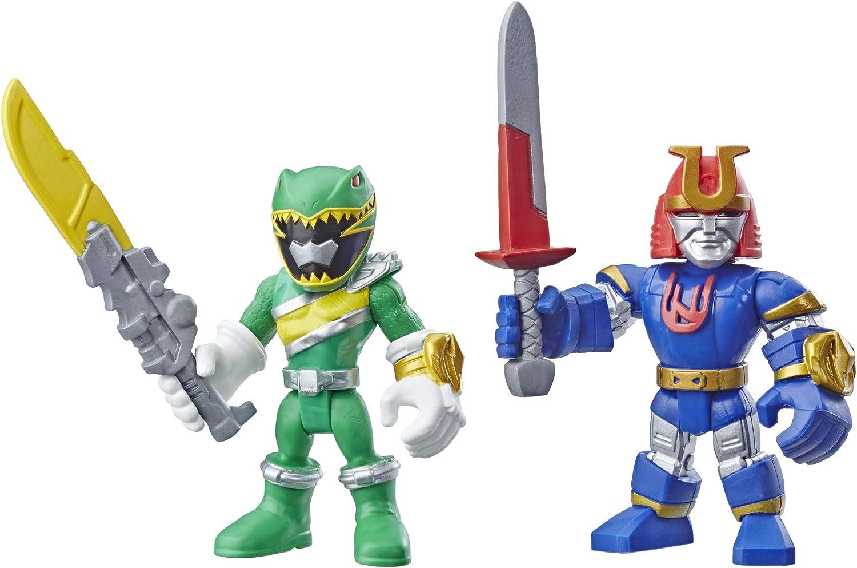 Playskool Heroes Power Rangers Green Ranger and Ninjor