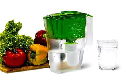 GEYSER Jarra con Filtro purificador de Agua Alpha (Verde)