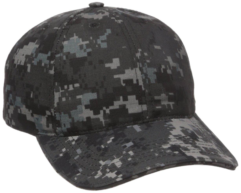 TRU-SPEC Ball Cap, Tru blk P/C R/S, Adj, Sandwich Bill, Black, One Size Atlanco 55463