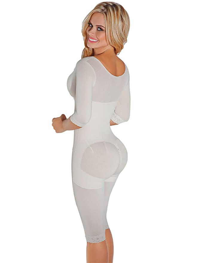 PIEL DE ANGEL Fajas Colombianas Reductoras Moldeadoras High Compression Garments After Liposuction Bodysuits PAM066 at Amazon Womens Clothing store: