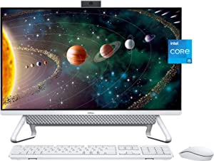 Newest Dell Inspiron 27 7000 Silver All-in-One Desktop Computer, 27