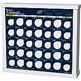トライエックス 卓上 ザ・10万円カレンダー 2019年 カレンダー CL-592 卓上 23×26cm 貯金箱 貯まる