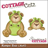 "Die Cottagecutz 4 ""X 4""-Pagliaccetto Orso"