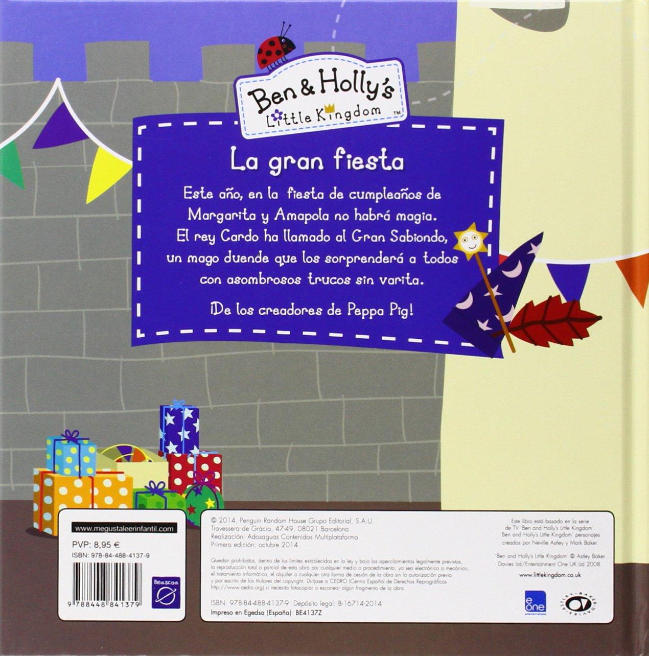 BEN&HOLLYS LA GRAN FIESTA - BEASCOA: 9788448841379: Amazon ...