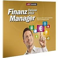 Lexware FinanzManager Deluxe 2019|in frustfreier Verpackung|Einfache Buchhaltungs-Software für private Finanzen und Wertpapier-Handel|Kompatibel mit Windows 7 oder aktueller