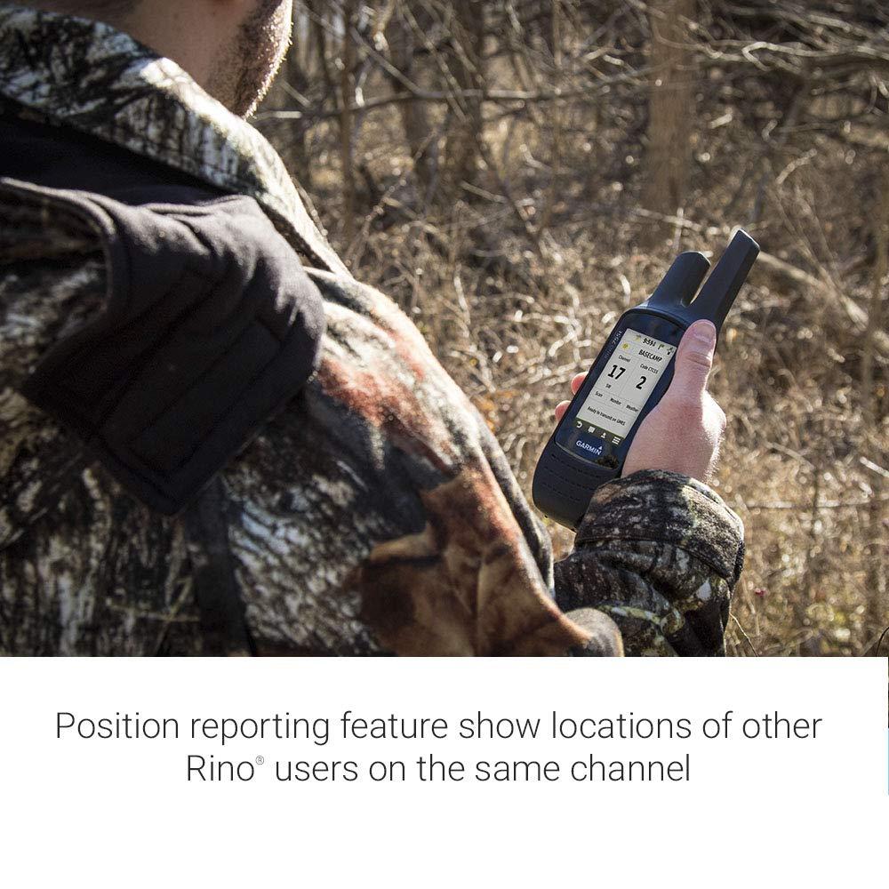 Garmin Rino 755t, Rugged Handheld 2-Way Radio/GPS Navigator with Camera and Preloaded TOPO Mapping by Garmin