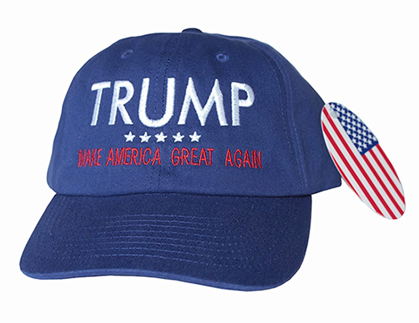 7eb1f7b2c Donald Trump MAKE AMERICA GREAT AGAIN Embroidered HAT President 2016 Pence  (ROYAL)