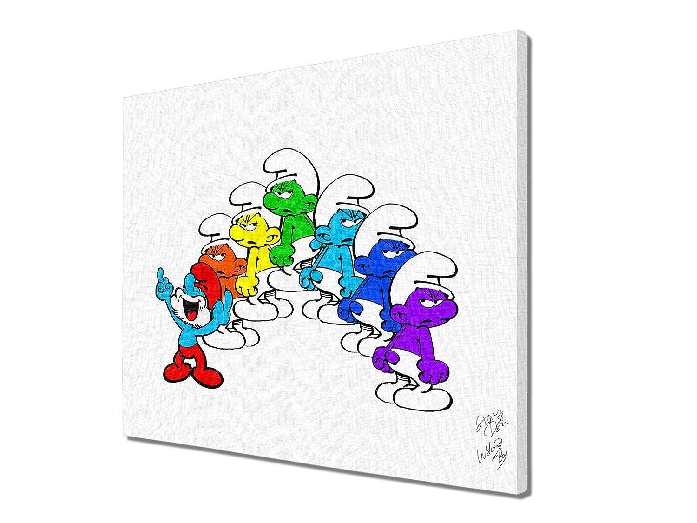 Rainbow P20サイズ キャンバスパネル #wb89 STAR DESIGN P20 (727×530×20mm) P20(727mm×530mm×20mm)  B07J2LBN8V