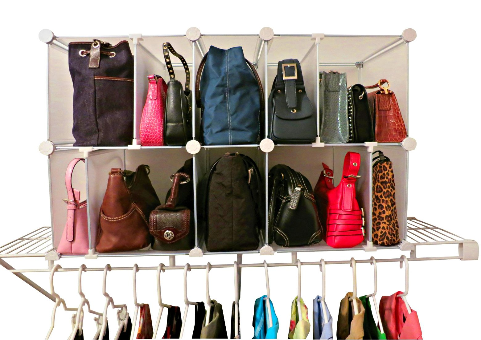 Luxury Living Deluxe Shelf Organizer