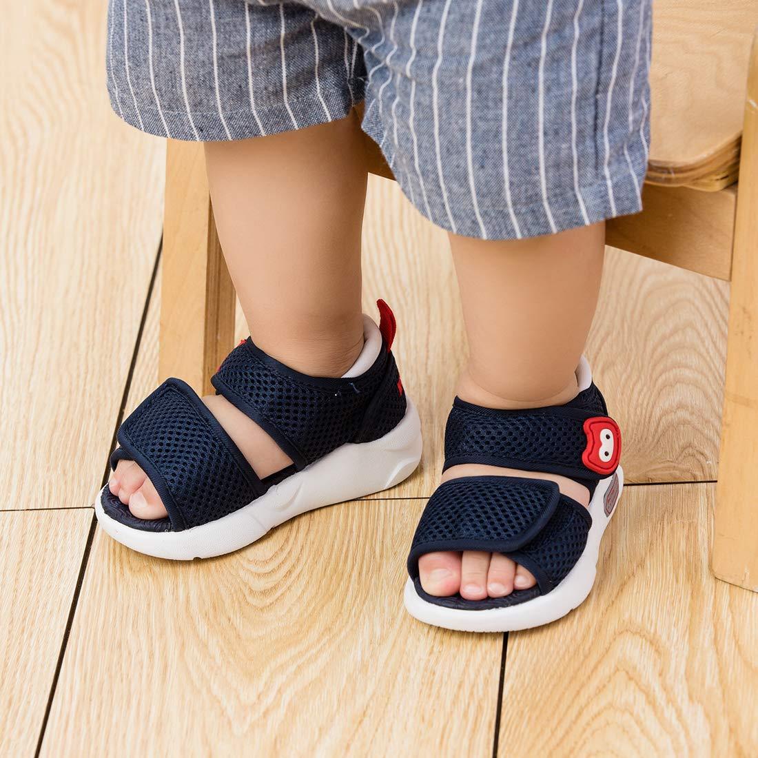 Toddler//Little Kid BMCiTYBM Boys Girls Sport Water Sandals Closed-Toe Outdoor Beach Summer
