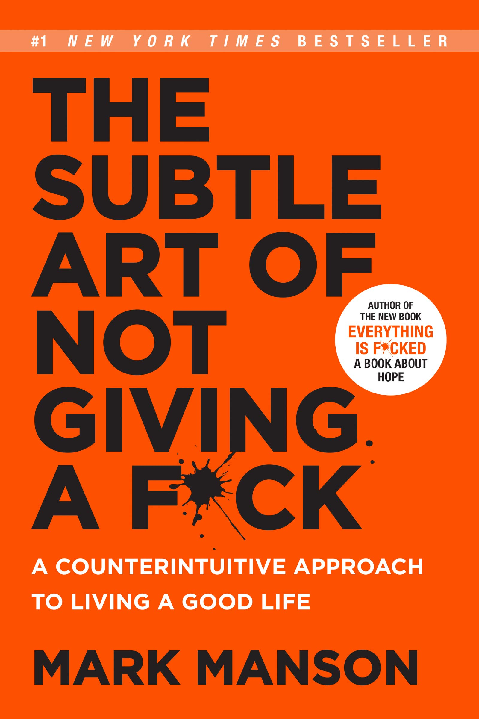 Buy The Subtle Art of Not Giving a F*ck Book Online at Low