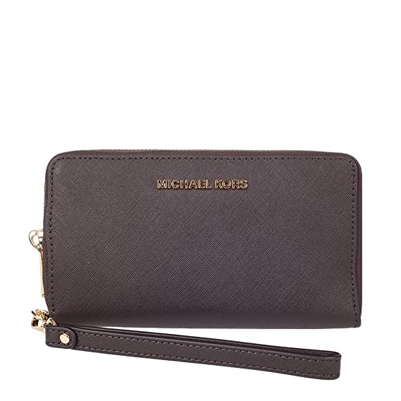 5050bd5039f1 Image Unavailable. Image not available for. Color  MICHAEL Michael Kors  Women s Jet Set Travel Large Flat MF Phone Case ...