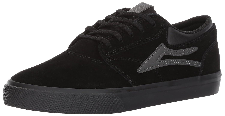 Lakai Griffin Skate Shoe B01N222BA7 6 M US|Black/Black Suede