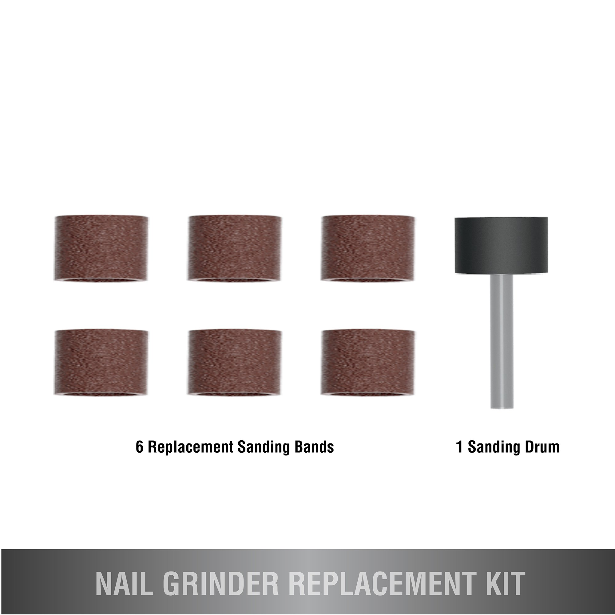 Wahl Professional Animal Classic Nail Smoother Replacement Kit #5961-100