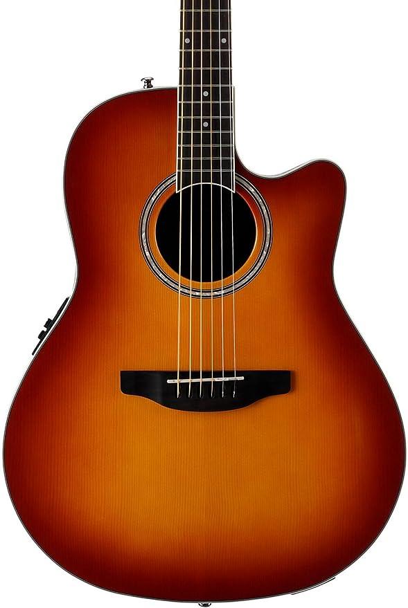 Ovation Cutaway Guitar Applause Balladeer Plus Nylon String Acoustic Electric
