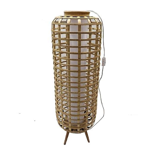 Lámpara rattan modelo: 0040932: Amazon.es: Iluminación