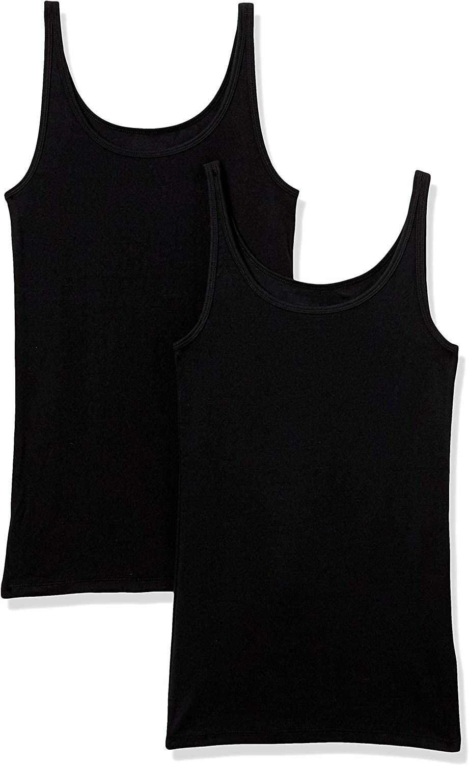 Amazon Essentials Women's 2-Pack Slim-fit Thin Strap Tank