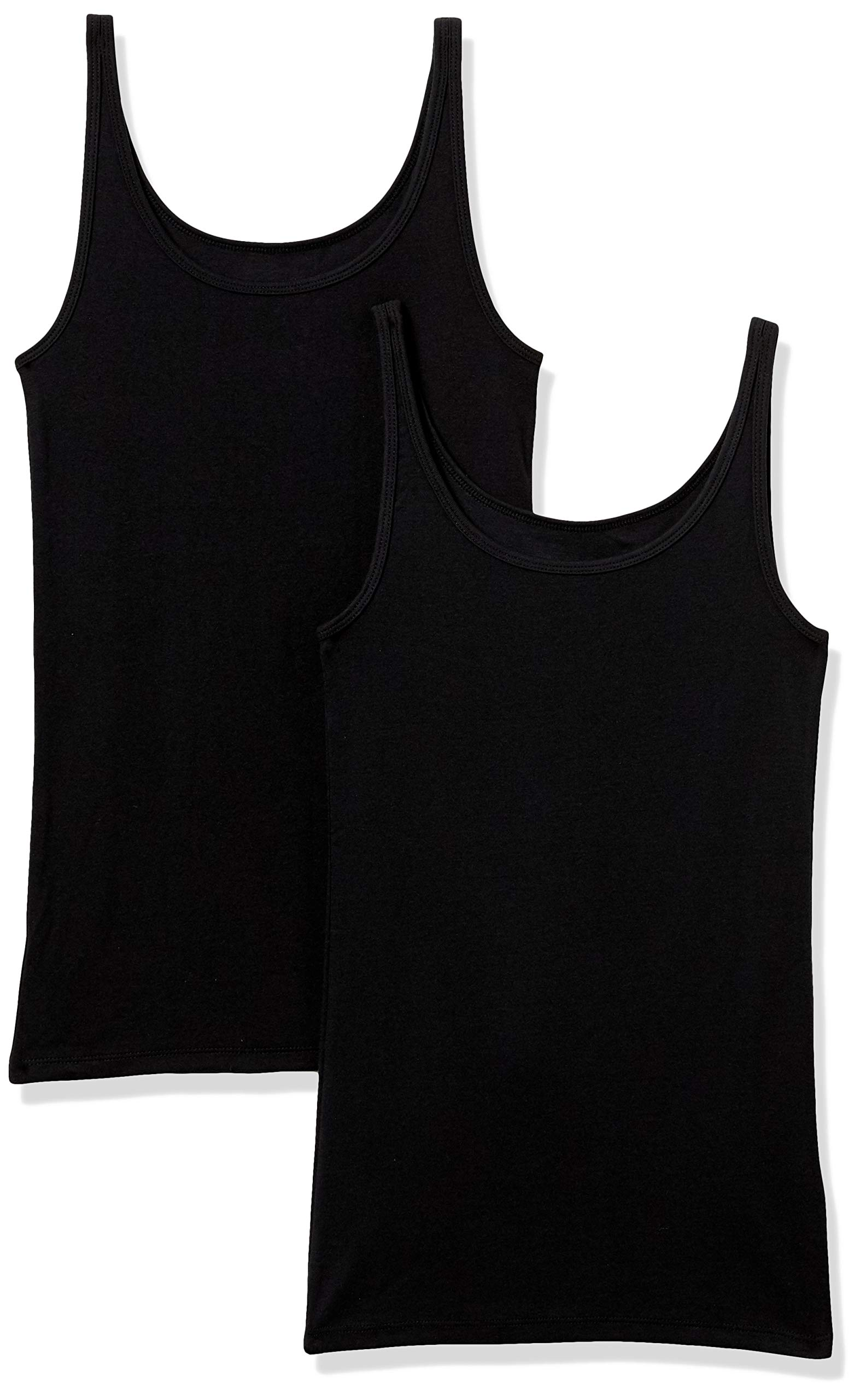 Amazon Essentials Women's 2-Pack Slim-fit Thin Strap Tank