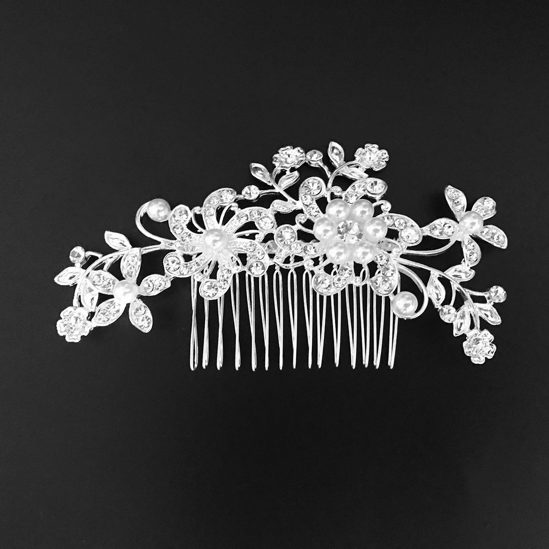 Miaoo donne nuziale diamante pettine clip wedding Accessories