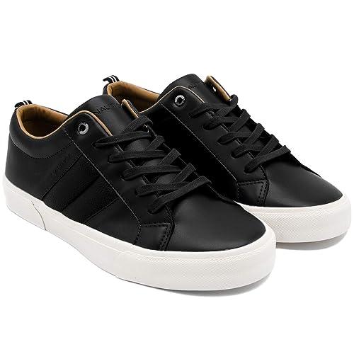 298a050b788 Zapatillas Deportivas de Hombre Nautica Estilo Casual Color Negro   Amazon.es  Zapatos y complementos