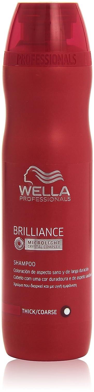 Wella Profesionals Brilliance - Champú para cabello coloreado - Coloración de aspecto sano y de larga duración - 250 ml Wella Professionals 3607342597853 4015600115647_Blanco