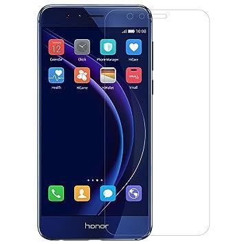 9fd7f50bae2 Nillkin Amazing H+Pro - Protector de pantalla 9h con bordes curvos 2.5d  cristal templado de 0,2mm para Huawei Honor 8: Amazon.es: Informática