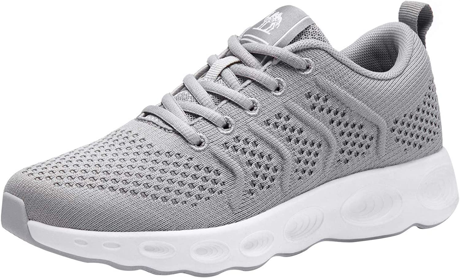 CAMEL CROWN Running Shoes Women Tennis Walking Trainning Trail Lightweight Comfortable Sneakers Athletic Gym Casual Footwear for Sports Outdoors Grey 6.5