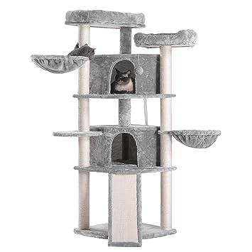 Amazon.com: Hey-bro MPJ031 - Árbol para gatos con postes ...
