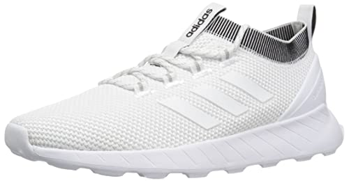 adidas Men's Questar Rise Running Shoe, WhiteGrey, 12 M US