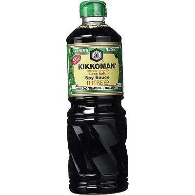 Kikkoman Salsa de Soja Menos Sal - 1000 ml