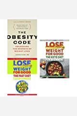 obesity code, lose weight for good fast diet for beginners and the keto diet for beginners 3 books collection set - unlocking the secrets of weight loss, weight loss with intermittent fasting Paperback
