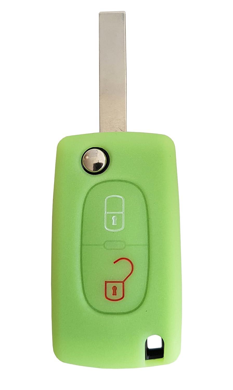 in silicone CK Peugeot Portachiavi//cover//custodia per chiavi auto