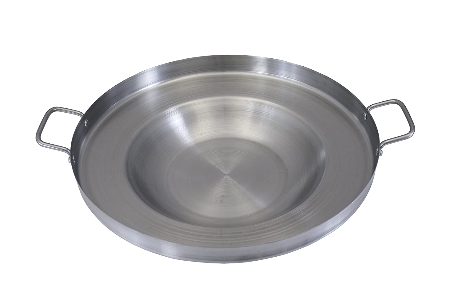 "Concord Global Trading CONCORD Stainless Steel Comal Frying Bowl Cookware (22"")"