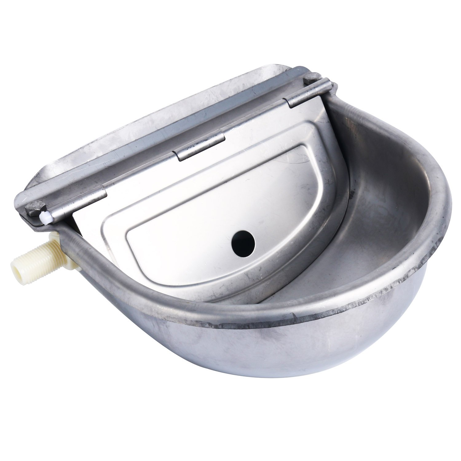Homend Automatic Waterer Bowl Farm Grade Stainless Stock Waterer Horse Cattle Goat Sheep Dog Water