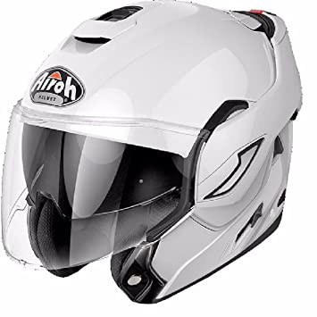 RE14XS - Airoh Rev Color Flip Front Motorcycle Helmet XS White