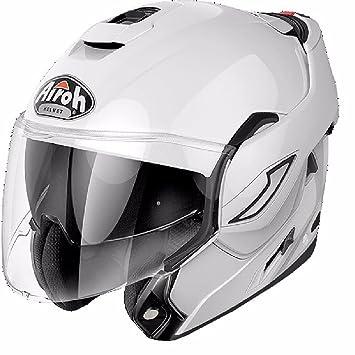 RE14XS - Airoh Rev Color Flip Front Motorcycle Helmet XS White