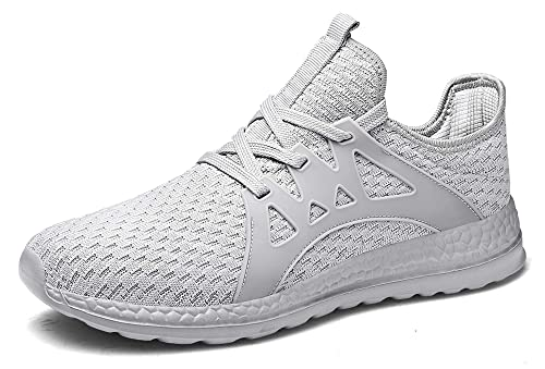 812d80723a74d Go Tour Men's Sneakers Mesh Ultra Lightweight Breathable Athletic Running  Walking Gym Shoes