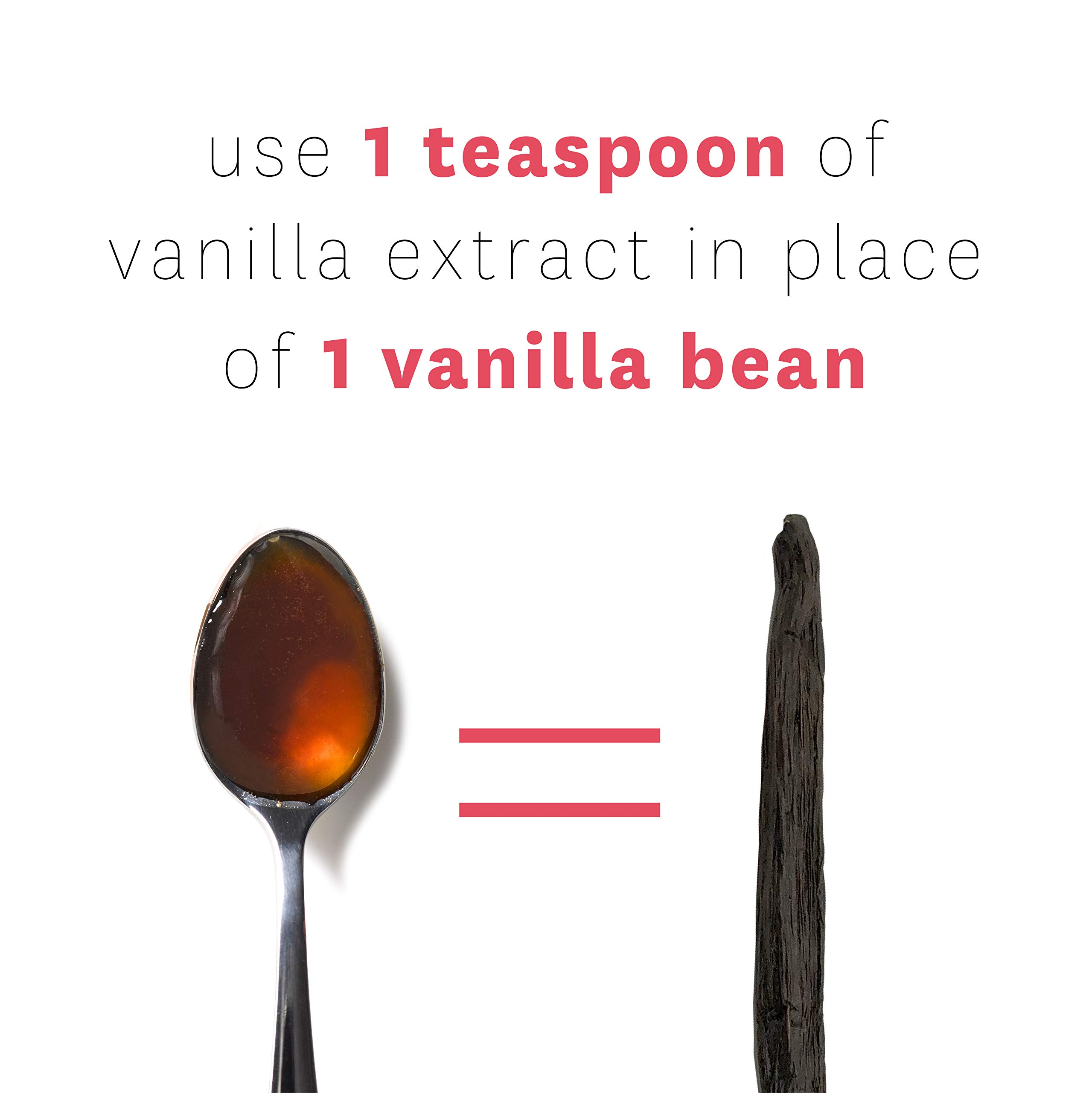 Pure Vanilla Extract for Baking - Gourmet Quality Organically Grown, No Sugar, No Imitation Flavors, No Chemicals or Synthetic Flavors - Heilala Vanilla is 100% Pure Vanilla Extract 16.90 fl oz by Heilala Vanilla (Image #3)
