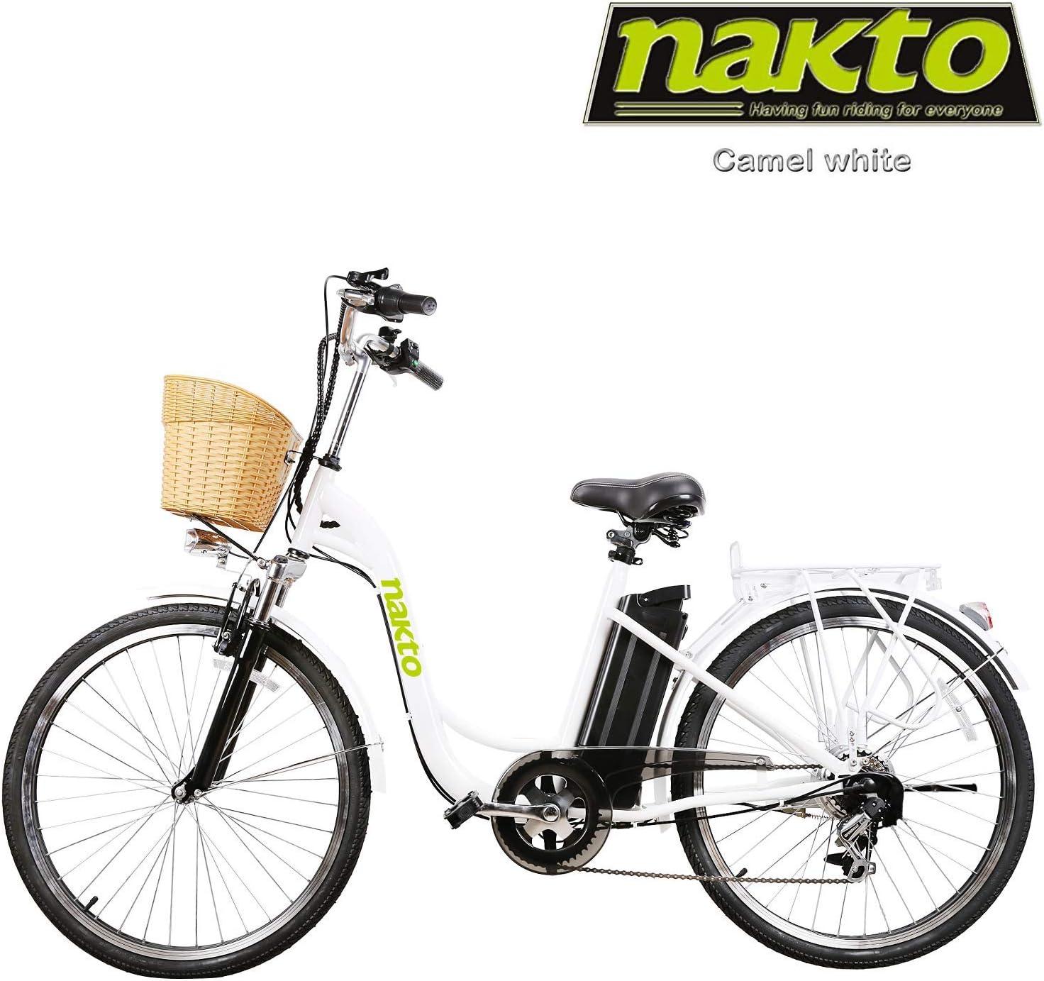 NAKTO 250W Cargo Electric Bicycle