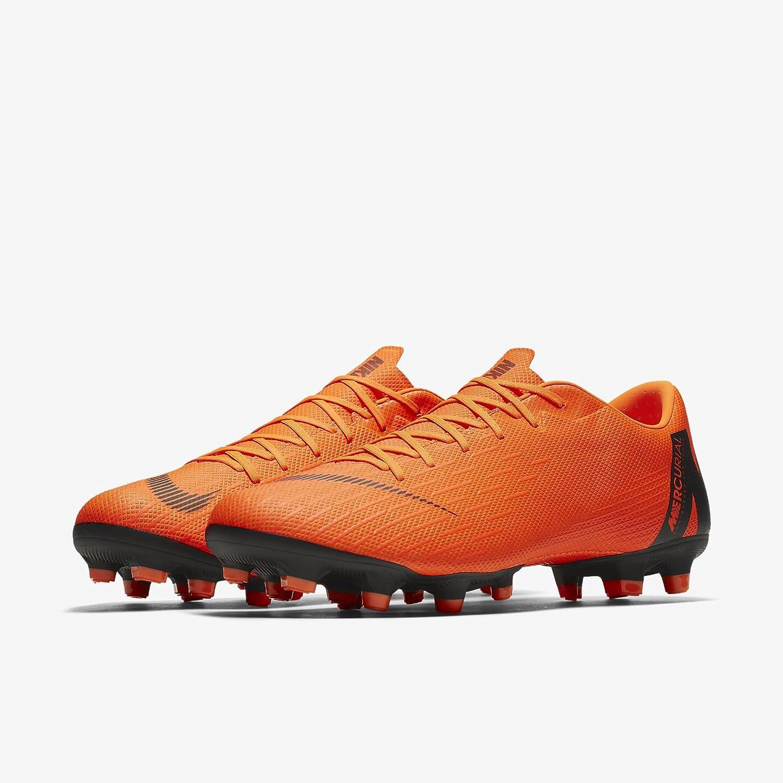 Nike Herren Mercurial Vapor Xii Academy MG Fuszlig;ballschuhe  42.5 EU|Orange (Total Orange/White-t 810)