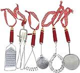 amazon com set of 5 kitchen utensil ornaments home kitchen rh amazon com
