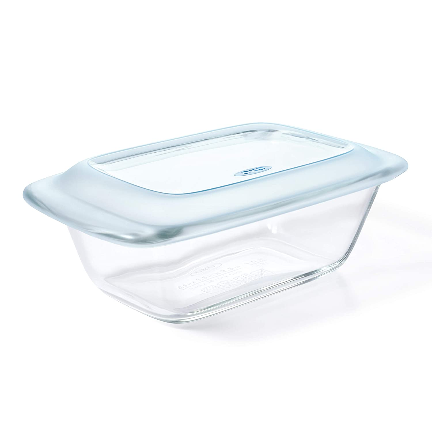 OXO 11249200 Good Grips Glass Loaf Pan with Lid, One Size