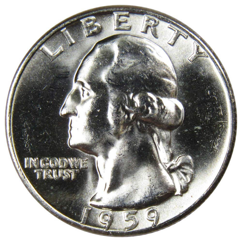 1996 P/&D Washington Quarters